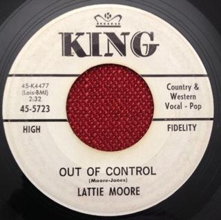 Lattie Moore 1963