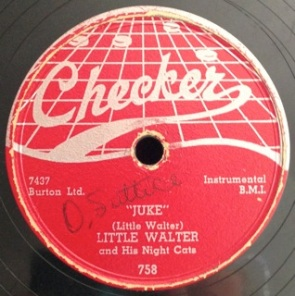Juke / Can't Hold On Much Longer, Little Walter and his Night Cats, web top Checker