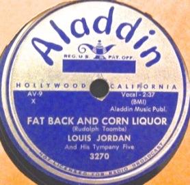 Louis Jordan, 1954