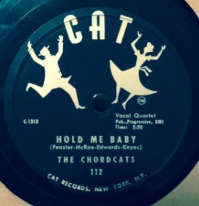 The Chordcats, 1954 (group later known as The Chords)