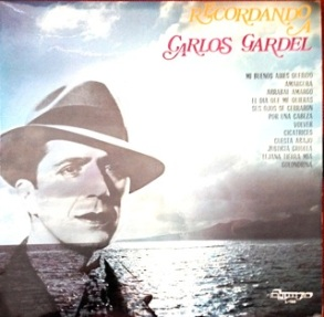 Carlos Gardel, (king of the Chilean tango) - Dympo (Spanish label)