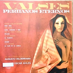 Oscar Aviles, guitar with orch, Peru - Pacifico label