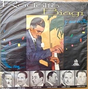 Rodolfo Biagi & Various, tango, vals, milango, Chile - Odeon