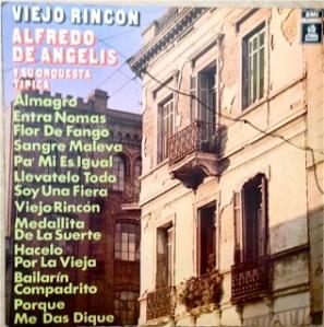 Alfredo de Angelis, Chile - Odeon / EMI