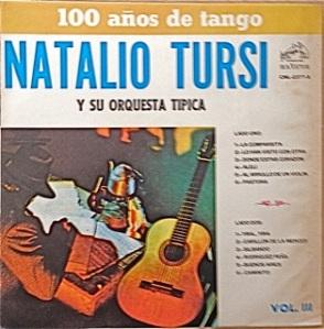 Natalio Tursi, tangos - RCA Chile