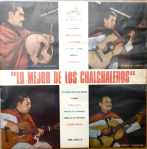 Los Chalchaleros, Chile, ethnic - RCA Chile