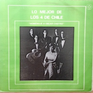 Los 4 De Chile, music + poetry - Astral label