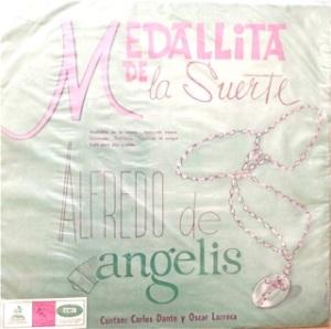 Alfredo de Angelis, Chile (tangos) - Odeon / EMI