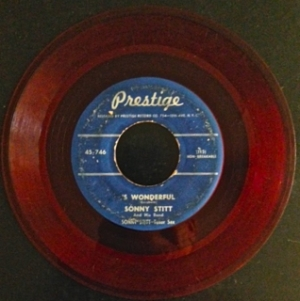 Prestige 746, red wax, 1950, quite rare, Sonny Stitt and his band