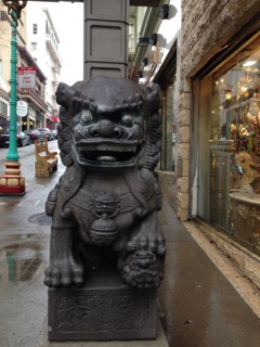 guardian at Grant Avenue gateway